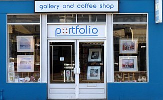 picture of Portfolio Gallery from the pavement